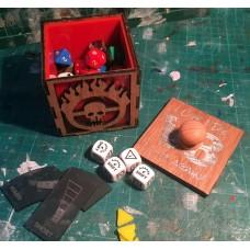 Dice Box Mad Max inspired